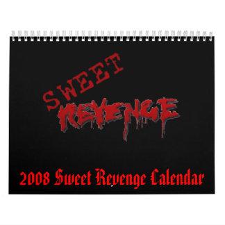 Calendario de la venganza de 2008 dulces