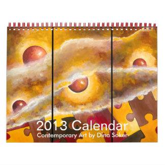 Calendario de la vida que revela 2013,