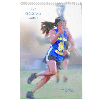 Calendario de LaCrosse de 2017 chicas