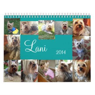 Calendario de Lanis 2014
