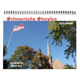 Calendario de las agujas 2014 de Schenectady
