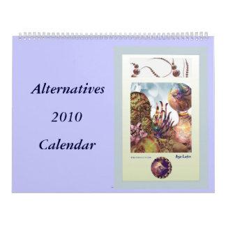 Calendario de las alternativas 2010