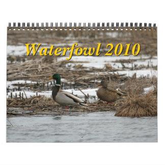 Calendario de las aves acuáticas 2010