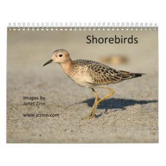 Calendario de las aves costeras