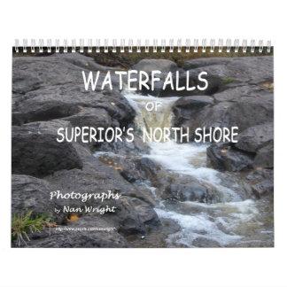 Calendario de las cascadas del lago Superior