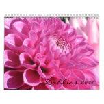 Calendario de las dalias 2011