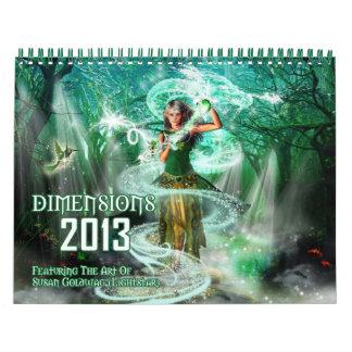 Calendario de las dimensiones 2013