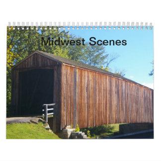 Calendario de las escenas de Cercano oeste