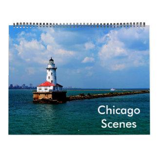 Calendario de las escenas de Chicago