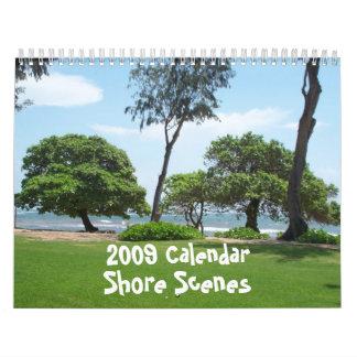 Calendario de las escenas de la orilla