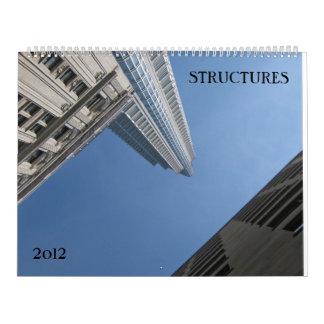 Calendario de las estructuras 2012