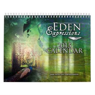 Calendario de las expresiones 2015 de Eden