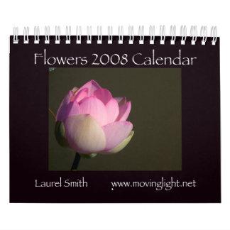 Calendario de las flores 2008