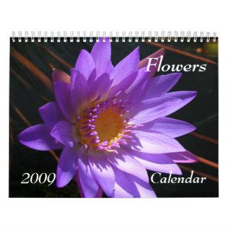 Calendario de las flores 2009
