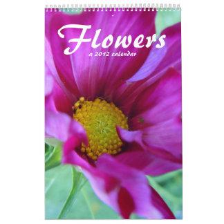 Calendario de las flores 2012