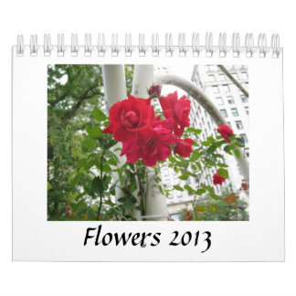Calendario de las flores 2013