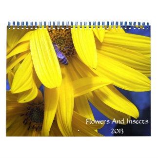 calendario de las flores y de los insectos 2013