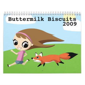 Calendario de las galletas de suero 2009
