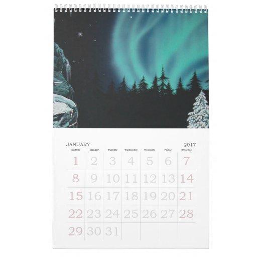 Calendario de las ilustraciones de Darkstar