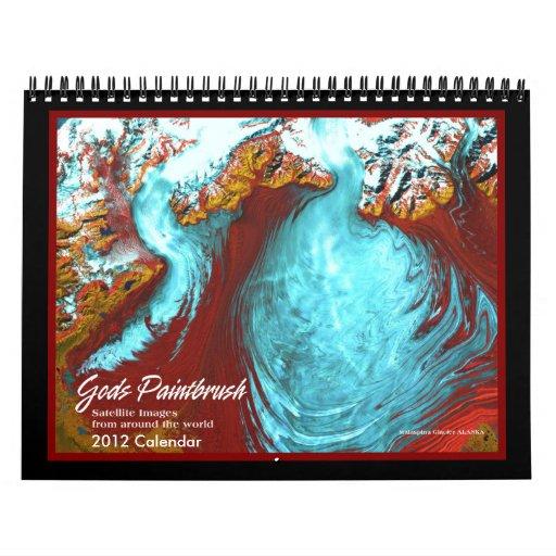 Calendario de las imágenes 2012 del satélite de ti