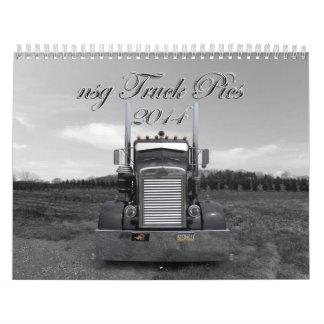 calendario de las imágenes 2014 del camión del nsg