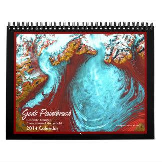 Calendario de las imágenes 2014 del satélite de