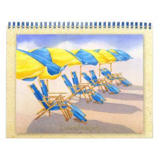 Calendario de las imágenes de 2012 Coastal