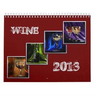 Calendario de las imágenes del vino