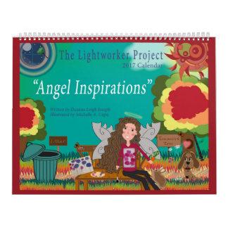"""""""Calendario de las inspiraciones"""" 2017 del ángel Calendarios De Pared"""