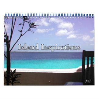 Calendario de las inspiraciones de la isla