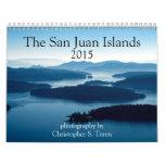 Calendario de las islas 2015 de San Juan