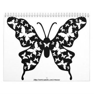 Calendario de las mariposas