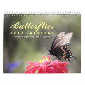 Calendario de las mariposas 2012