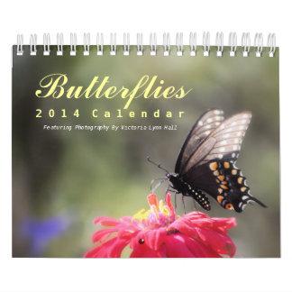Calendario de las mariposas 2014