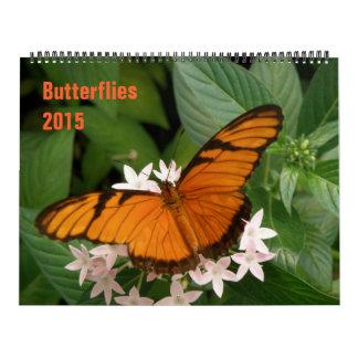 Calendario de las mariposas 2015