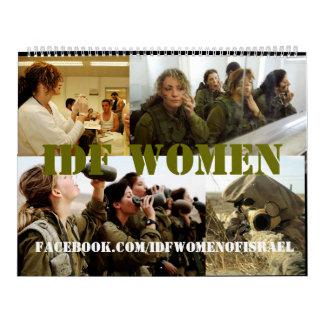 Calendario de las mujeres de la CA