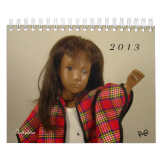 Calendario de las muñecas 2013 de Sasha