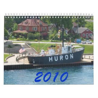Calendario de las naves de Great Lakes