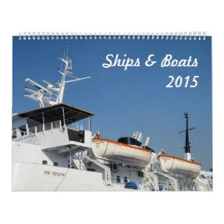 Calendario de las naves y de los barcos 2015