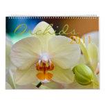 Calendario de las orquídeas 2011