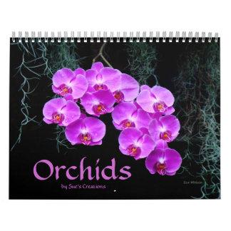 Calendario de las orquídeas