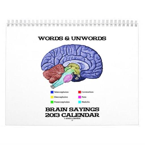 Calendario de las palabras y de los refranes 2013