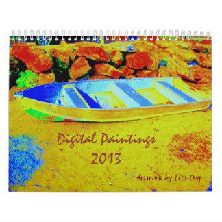Calendario de las pinturas 2013 de Digitaces