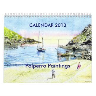 """""""Calendario de las pinturas de Polperro"""""""