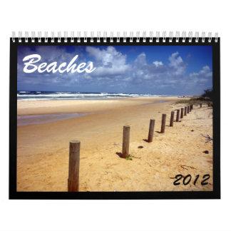 calendario de las playas 2012