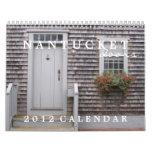 Calendario de las puertas 2012 de Nantucket