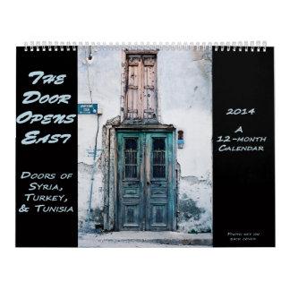 Calendario de las puertas - Siria, Turquía, Tunesi