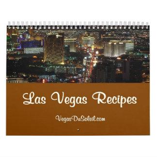 Calendario de las recetas de Las Vegas por