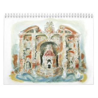 Calendario de las ruinas