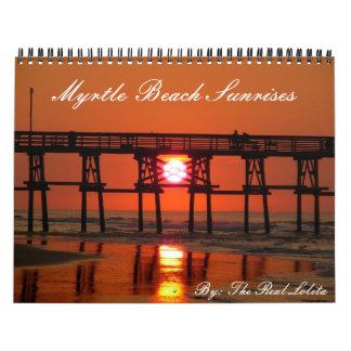 Calendario de las salidas del sol de Myrtle Beach